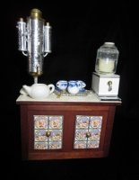 Beverage Sideboard w/Samovar