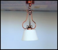 3Rd Ave. Copper LED Ceilling lamp