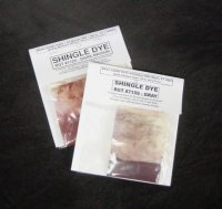 Shingle Dye reddish brown