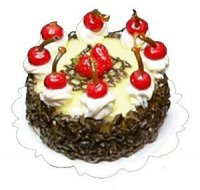 Cherry Chocolate Cr.. Decor cake