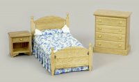 Bed Set/oak