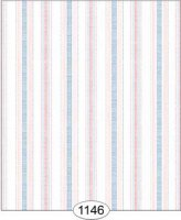 Cottage ribbon stripe-pink/bl
