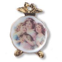 Angel Plate on stand