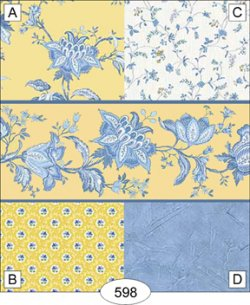 Jacobean-yellow-floral