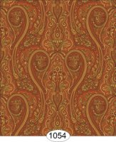Paisley swirl-orange