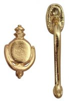 Door handle w/knocker