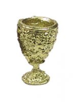 Ornate golden goblet