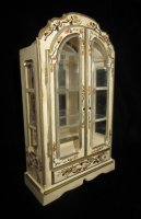 Hand Painted China Cabinet