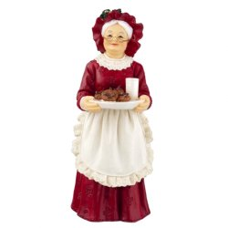Mrs. Claus, standing