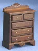 Chest of drawers/walnut