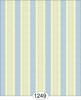 Bella stripe/blue on ivory