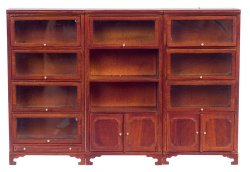 Lawyer's book cases set/3