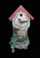 Birdhouse w/nest