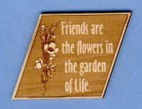 Friend are flowers