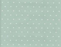 White dots on aqua blue