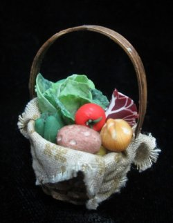 Med. Basket of Veggies