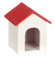 Dog House w/ Red roof