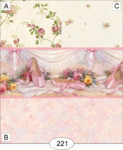 Ballet slippers-pink-marble