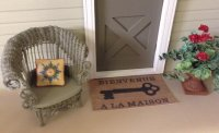 French Door Mat-Key