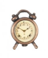 Antiqued Alarm Clock