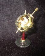 Brass Globe on stand
