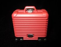 Red Hard Sided Luggage