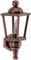 Carriage lamp, oil rubbed bronze