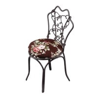 Garden chair w.dark cushion