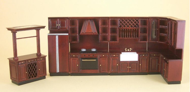 Kitchen Island 3803mm 90 00 Out Of The Ordinary Dollhouse