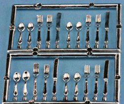 20 pc. silverware set