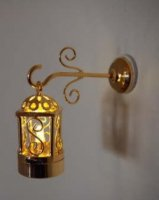 2 Pc. Brass Coach Lamp