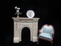 Aged Ivory Fireplace