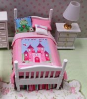 Dressed Princess bed set