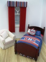 Monteal Hockey Bed
