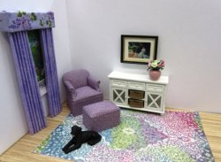Lilac Splendor Carpet
