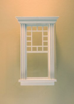 Atherton Single Window/white