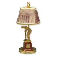 Golf Trophy Lamp/non-elect.