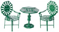 Cafe Table Set/green