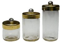 3 pc jar set with lids