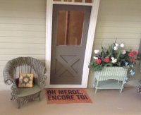 French Door Mat-Encore Toi