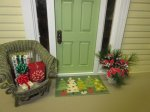 Christmas Tree Door Mat