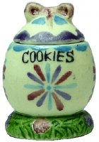 Easter Egg Cookie Jar