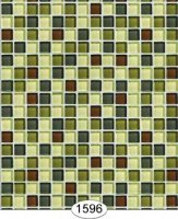 Mosaic glass tile-green
