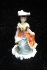 Lady Figurine/blue