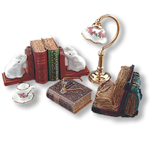 Desk Top set w/books