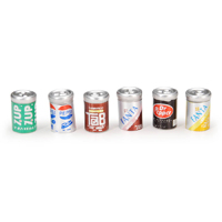 Soda cans/6pc.