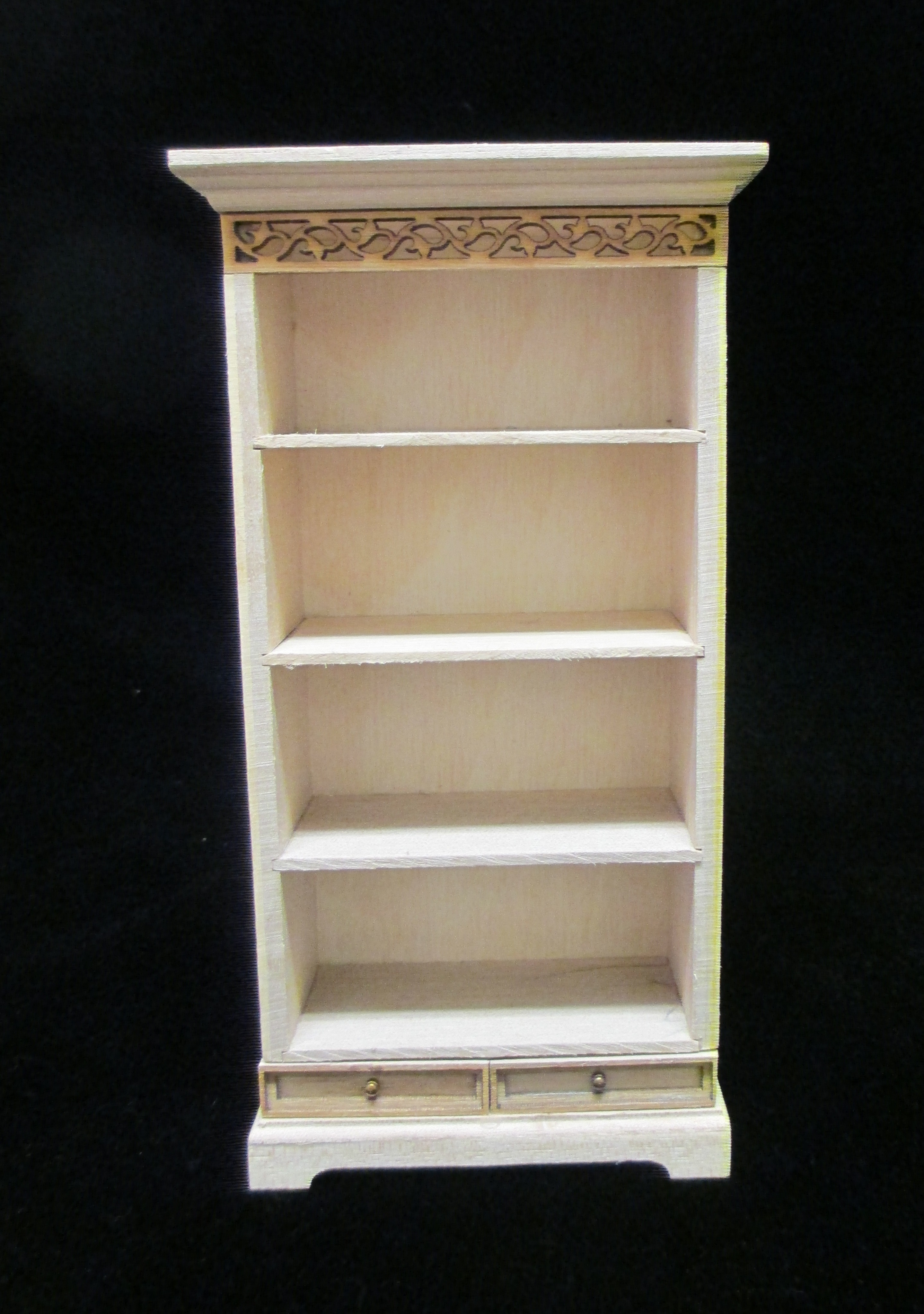 Bookcase/unfinished