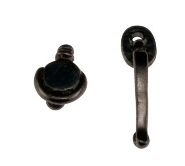 Door Handle w/knocker/black