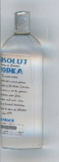 Absolut Vodka replica