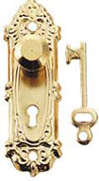 Opryland door knob with key 2 pk.